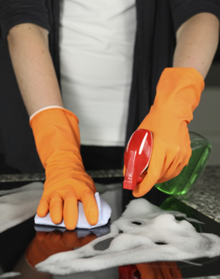 At Sunshine Cleaning Unlimited we put elbow grease into all of our cleaning services.